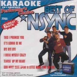 Karaoke Best of N Sync Artist Not Provided Music