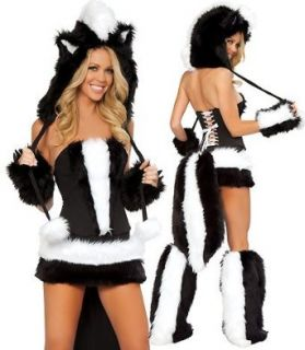 J Valentine Flower the Skunk Complete 5 Piece Costume Set