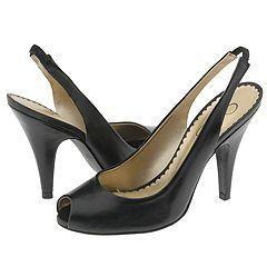 Jessica Simpson Pensa Black Western Leather