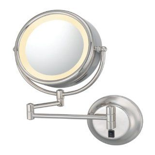 Kimball and Young 95385HW Double Sided Lighted Wall Mirror, Polished