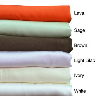 Brielle 100 percent Bamboo From Rayon 300 Thread Count Pillowcases