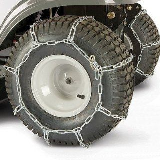 Lawn mower tractor rear tire chains 23x10.5x12 490 241 0026 set of 2