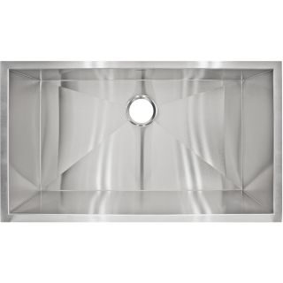 LessCare LP2 Designer Undermount Stainless Steel Sink Today $279.99