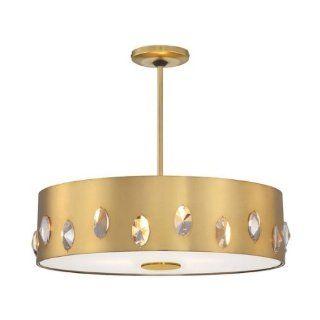 George Kovacs Contemporary Gold 6 Light Pendant
