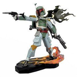 Star Wars: Animated Boba Fett Maquette: Toys & Games