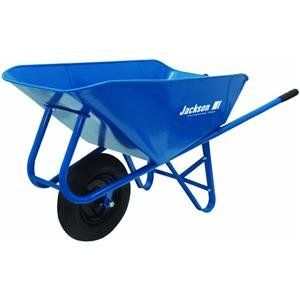 Jackson M6SNT 6 Cubic Foot Narrow Steel Tray Contractor