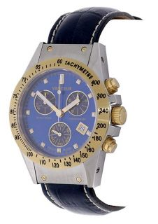 Vanceur Royal Horse Chronograph Mens Watch
