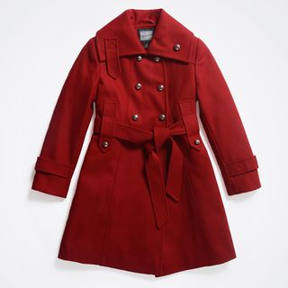 Rothschild Girls Wool Trench Coat (Size 7 16)