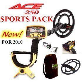 Garrett ACE 250 Metal Detector Deluxe Sports Pack Patio