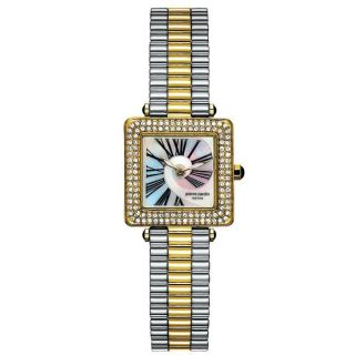 Pierre Cardin Womens Couture Two tone Stainless Steel Watch