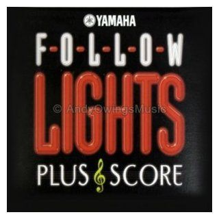 Yamaha Follow Lights Plus Score Software   Disk for Yamaha