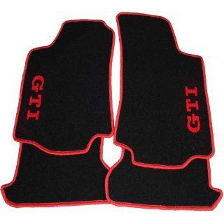 Velours Fußmatten schwarz für VW Golf 4 mit GTI in verschiedenen