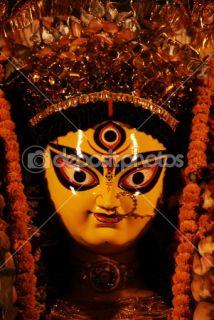 Durga Puja Festival  Foto Stock © Bhupendra Singh #1365468