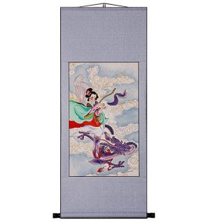 Goddess Wall Art Scroll Painting (China)