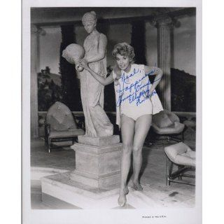 Signed Beverly Hillbillies Elly May Nice Swimsuit Pose UACC RD 244
