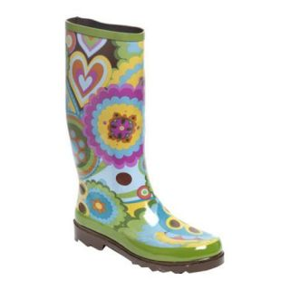 Womens RainBOPS Classic Style Rain Boot Retro