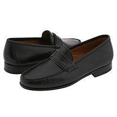 Allen Edmonds Forti Black Calf Loafers