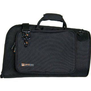 Pro Tec Deluxe C244 Flugelhorn Bag, Black Musical