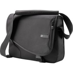 HP VX402AA Black Nylon Messenger style Laptop Case