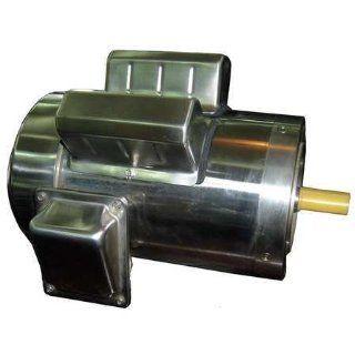 Dayton 11G244 Washdown Motor, 3/4 HP, 1745 rpm, TEFC
