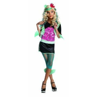 Monster High 3 884789 L   Lagoona Blue Kind Kleid, L: