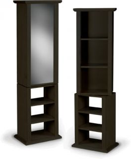 Two piece Swivel Bookcase