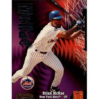 1998 Skybox Brian McRae # 245 Mets Collectibles
