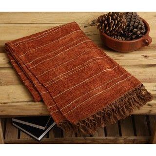Jovi Home Luxury Hand woven Textured Throw