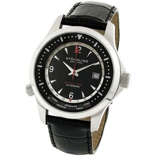 Stuhrling Original Mens Voyager II GMT Automatic Watch