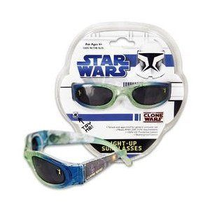 Star Wars aufleuchtende Sonnenbrille   blau Spielzeug