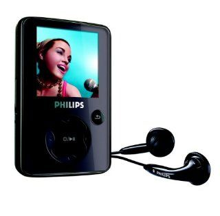 Philips SA 3045 MP3 /Video Player 4 GB (Radio, USB 2.0) schwarz