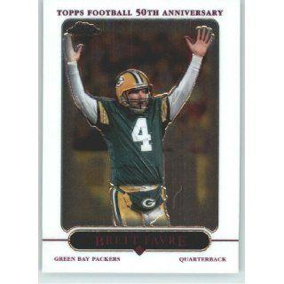 Brett Favre   Green Bay Packers   2005 Topps Chrome Card # 139