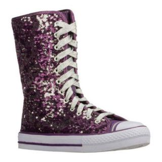 Girls Skechers Shuffles Dramatics Purple