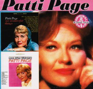 Say Wonderful Things Love After Midnight Patti Page