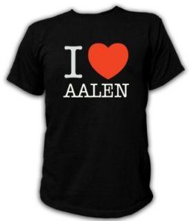 Artdiktat T Shirt I love Aalen Bekleidung
