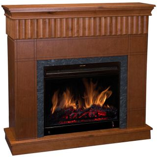 Hunter Mantel and Electric Fireplace