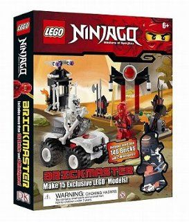 Lego Ninjago Brickmaster Masters of Spinjitzu [With 140 Lego Bricks