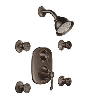 Moen Oil Rubbed Bronze Moentrol Vertical Spa