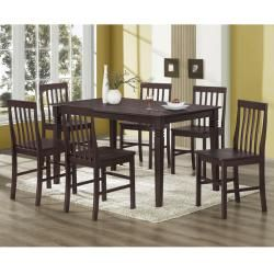Espresso 60 inch Wood Dining Table