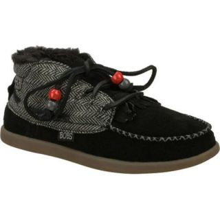 Womens Skechers BOBS World Bohemian Princess Black