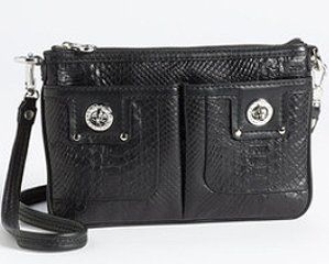 Marc by Marc Jacobs Python Embossed Percy Swingpack