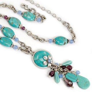 Sweet Romance Cool Water Turquoise Necklace