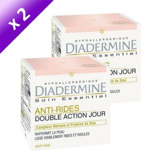 DIADERMINE Soin Jour Anti Rides Double Action x2   Achat / Vente SOIN