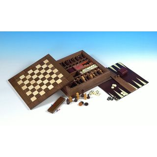 Ultra Classic Versatile Board game Set with Heirloom quality Box
