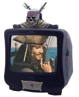 Disney Pirates 35,6 cm (14 Zoll) Fernseher mit integriertem DVD Player
