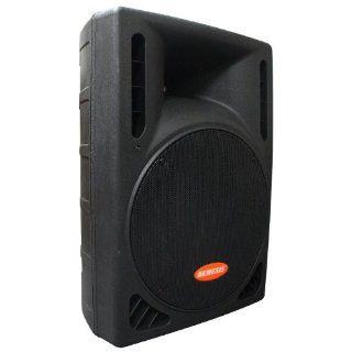 GENESIS GS 415 Active Bi Amp 15 Inch Loudspeaker, Black