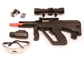 Spring Mini Aug Assault Rifle FPS 250 Airsoft Gun