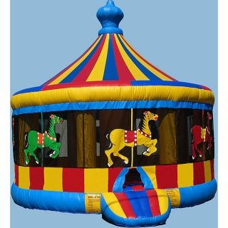 Commercial Grade Interactives Horse Circus Bouncer