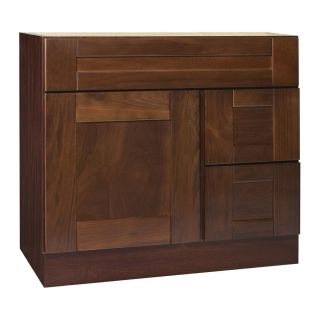 Georgetown Series 36x21 inch Vanity Base with Right side Drawers
