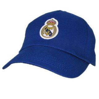 Real Madrid Mütze Base Cap Spanien Hut blau: Sport